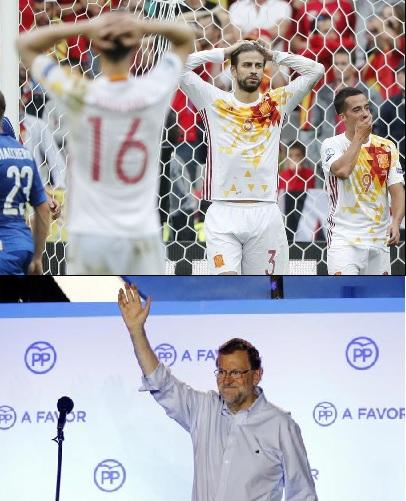 España vs Rajoy